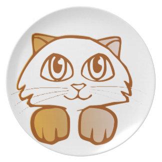 Katt Tallrik