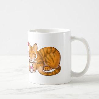 Katt Vit Mugg