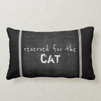 kattälskarecitationstecknet kudder humorgrått och lumbarkudde