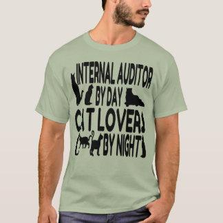 Kattälskareinternrevisor T Shirt