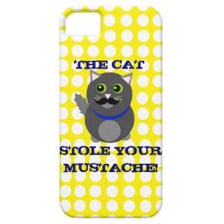 Katten stal din mustasch! iPhone 5 Case-Mate fodraler