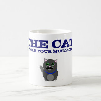 Katten stal din mustasch! muggar