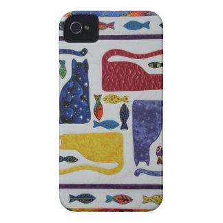 Katter iPhone 4 Case-Mate Skal