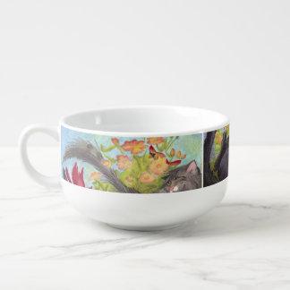 Katter, kardinaler och ro/Kopp för Soppa