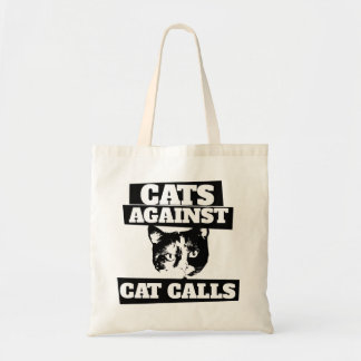 Katter mot kattappeller budget tygkasse