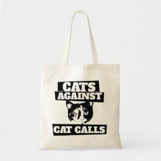 Katter mot kattappeller tygkasse