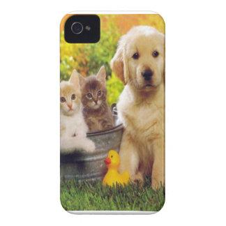 Katter och hundfodral 1 Case-Mate iPhone 4 skal