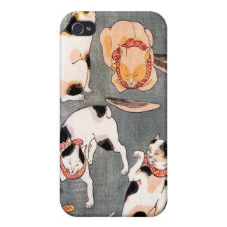 Katter Utagawa Kuniyoshi iPhone 4 Fodraler
