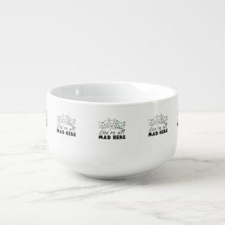 Katter - vi är alla tokiga här stor kopp för soppa