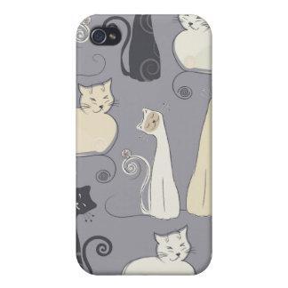 Katterna iPhone 4 Cover
