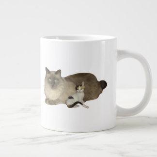 Kattkompisar Jumbo Mugg