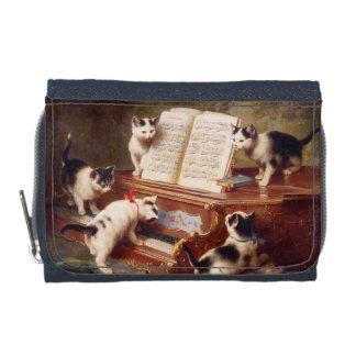 Kattkonst: Vintagemålning: Kattunge högläsning