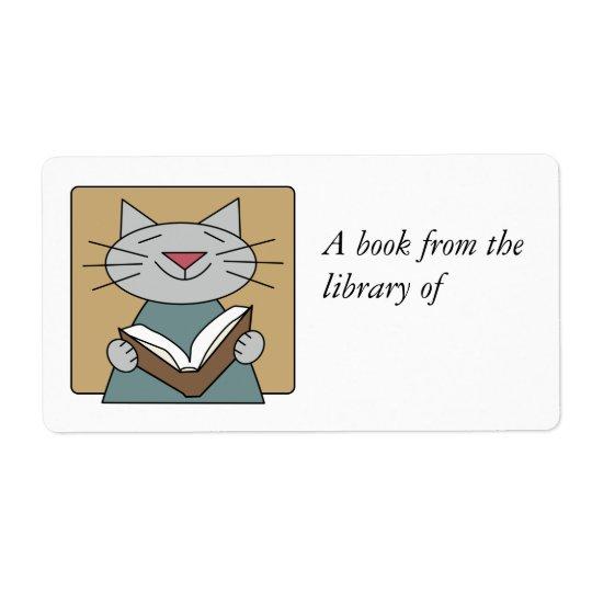 Kattläsning en bok fraktsedel