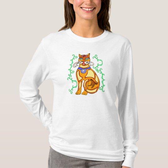 tröja med kattmotiv