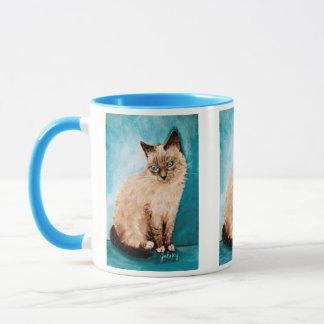 Kattporträtt Mugg