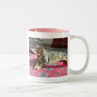 Kattprodukter: Minnie slynan Två-Tonad Mugg