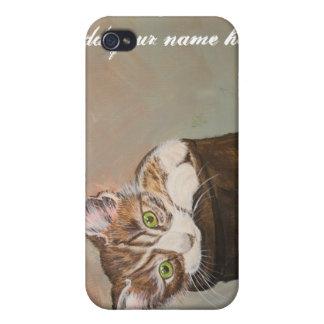 """Kattunge i en känga """"pälsfodrar """", iPhone 4 hud"""