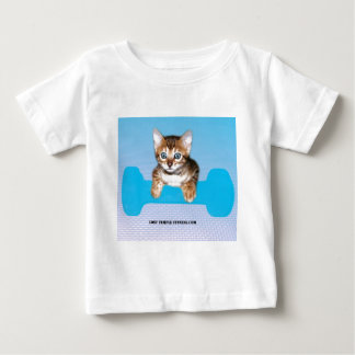 kattunge med hanteln blueJP.jpg Tee