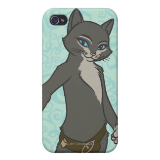 Kattunge Softpaws iPhone 4 Cover
