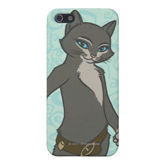 Kattunge Softpaws iPhone 5 Fodraler