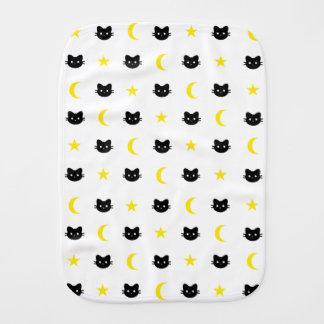 Kattungemåne och stjärnarapningtrasa bebistrasa