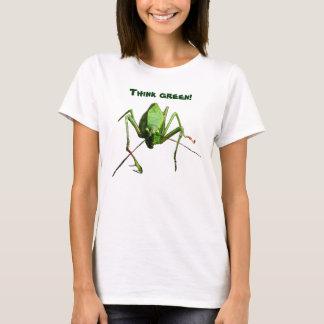 Katydid tänkagrönt tee shirt