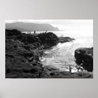 Kauai dykningaffisch poster