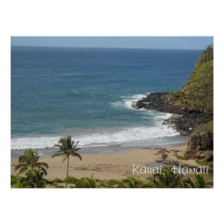 Kauai ö Hawaii Poster