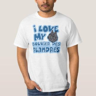 Kawaii älskar jag min Bouvier des Flandres Tshirts