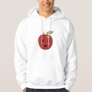 Kawaii Apple Sweatshirt Med Luva