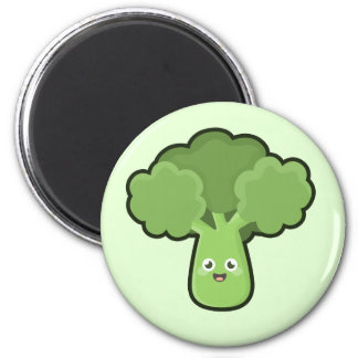 Kawaii broccoli magnet