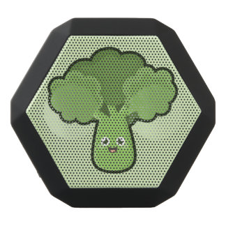 Kawaii broccoli svart bluetooth högtalare