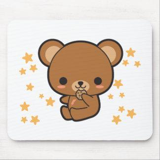 Kawaii bruntbjörn musmatta