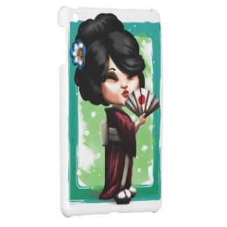 Kawaii Geisha iPad Mini Mobil Skydd