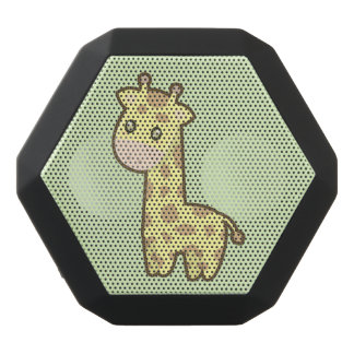 Kawaii giraff svart bluetooth högtalare