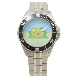 Kawaii groda armbandsur