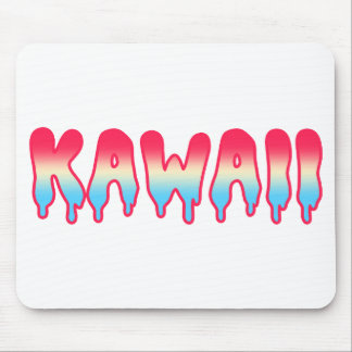 Kawaii gullig förtjusande Melty smälter Ombre past Musmattor