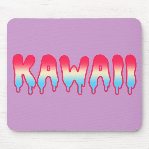 Kawaii gullig förtjusande Melty smälter Ombre past Mus Mattor