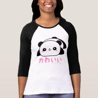 Kawaii gullig Panda T-shirts