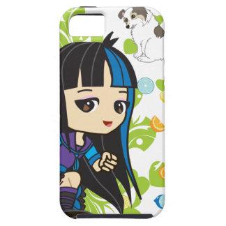 Kawaii Mika den Punk flickan Chibi iPhone 5 Fodraler