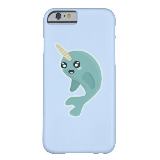 Kawaii Narwhal Barely There iPhone 6 Skal