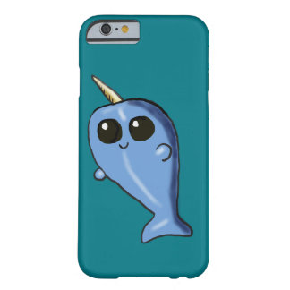 Kawaii Narwhal Iphone 6 fodral Barely There iPhone 6 Fodral
