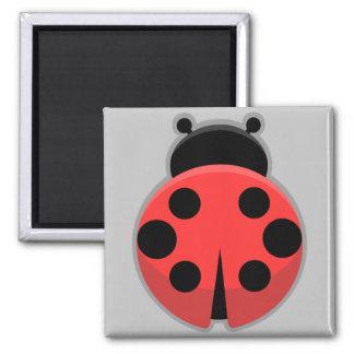Kawaii nyckelpiga magnet