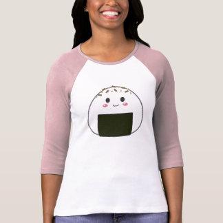 Kawaii Onigiri risboll med toppningar T Shirts