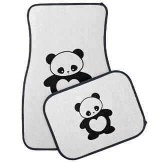 Kawaii panda bilmatta