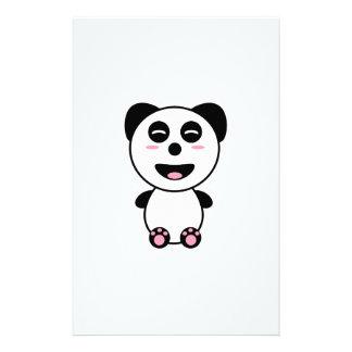 Kawaii Panda Brevpapper