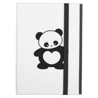 Kawaii panda fodral för iPad air