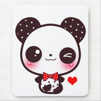 Kawaii panda musmatta