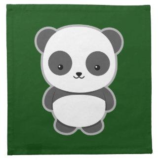 Kawaii Panda Tygservett