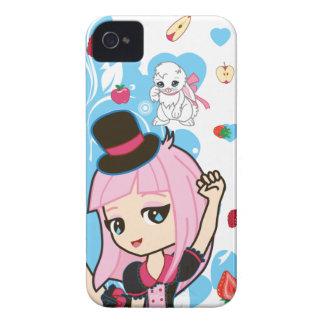 Kawaii Penelope den gotiska Lolitaen Chibi iPhone 4 Hud
